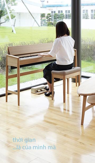 Piano điện decor 1