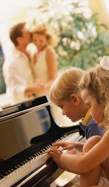 Piano điện decor