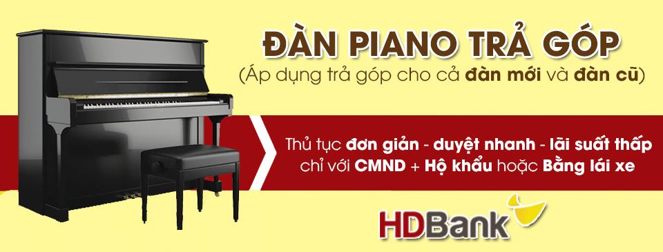 Đàn piano trả góp