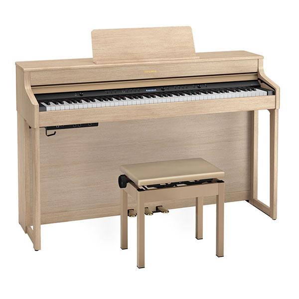 dan piano dien roland hp702 mau light oak h2