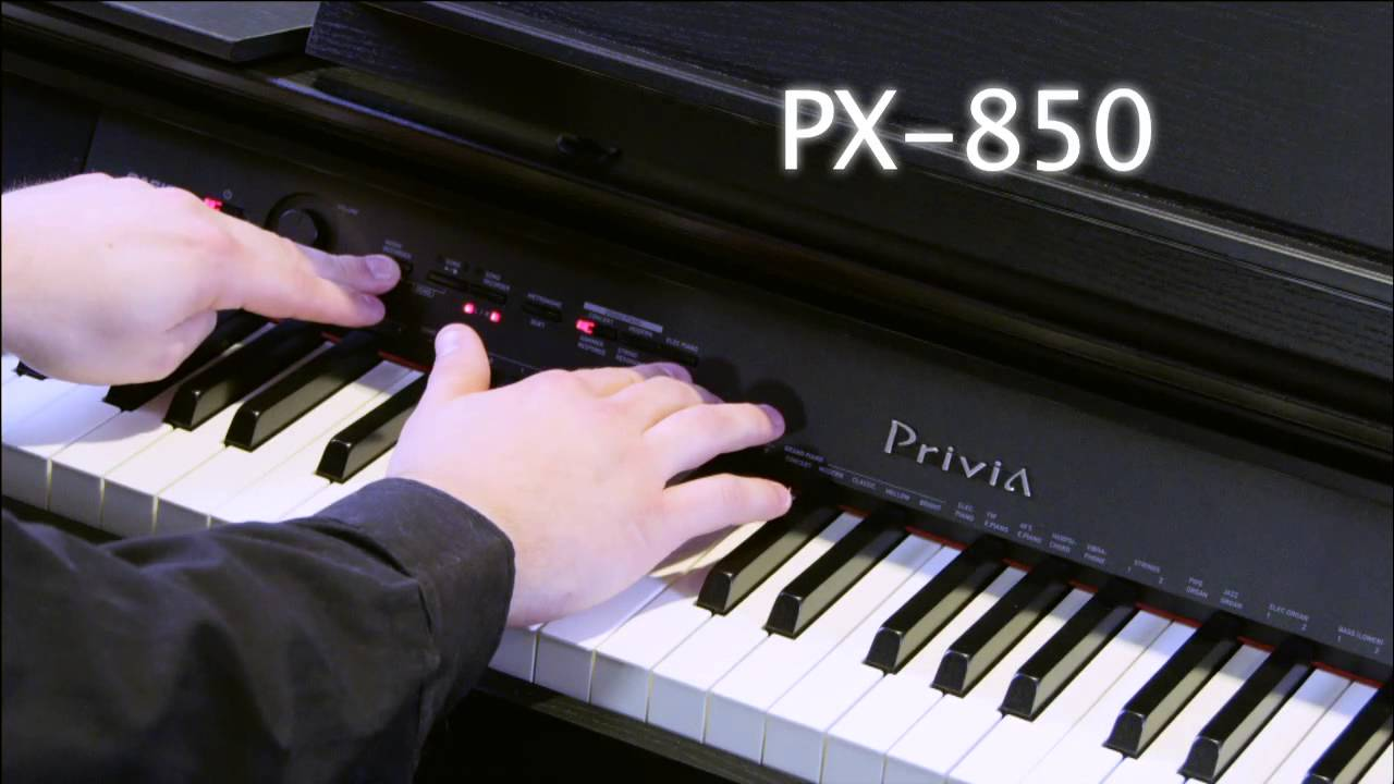piano điện Casio Privia PX850