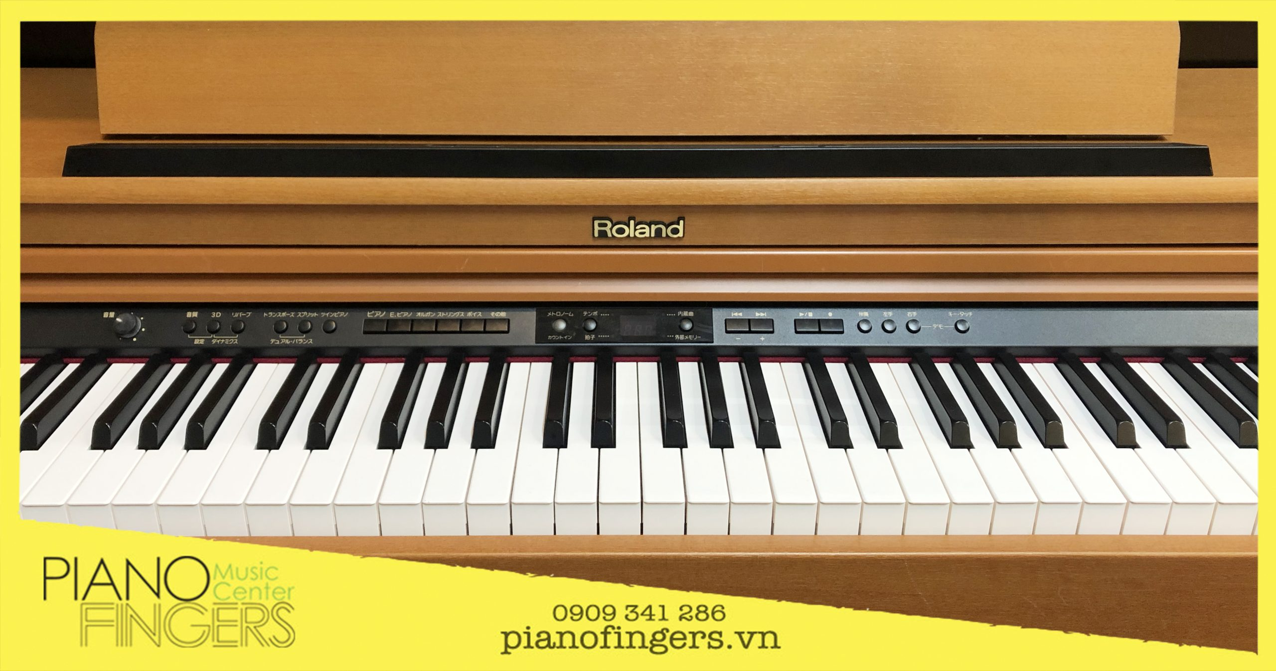 piano điện giá rẻ roland hp-203