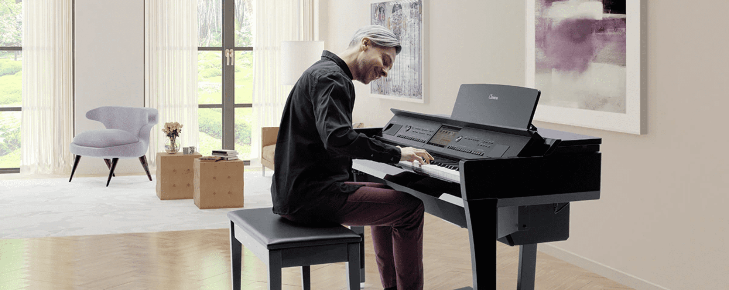 đàn piano điện Yamaha loại nào tốt cho người mới học