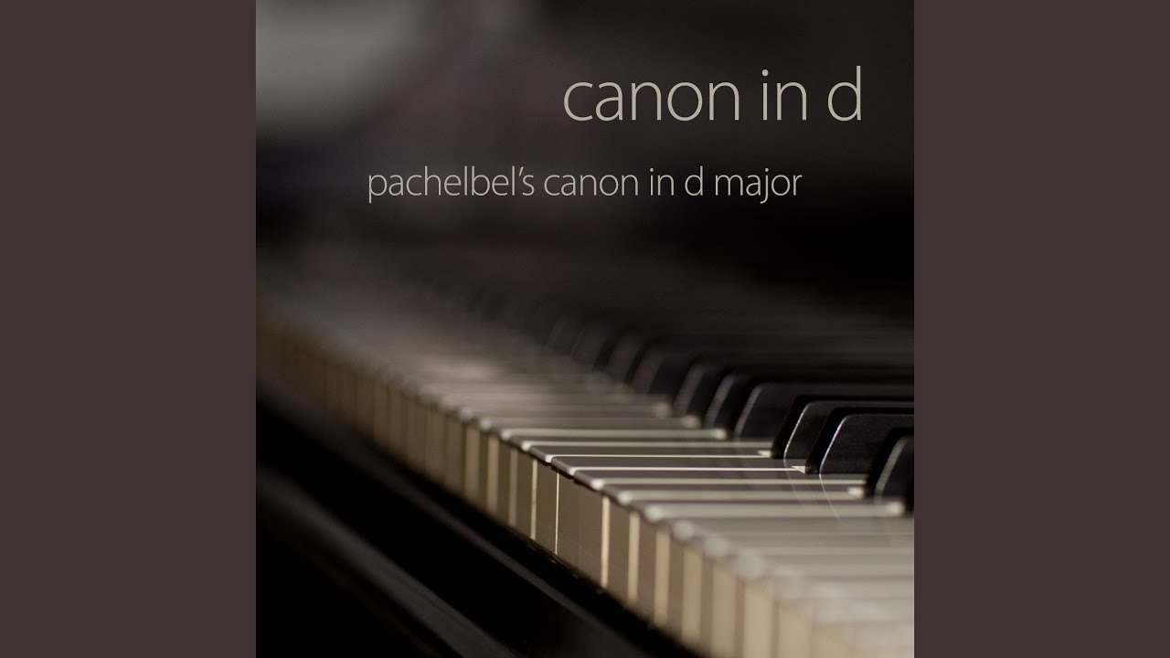 SHEET PIANO CANON IN D