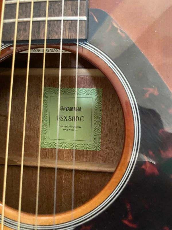 Guitar Yamaha FSX800C
