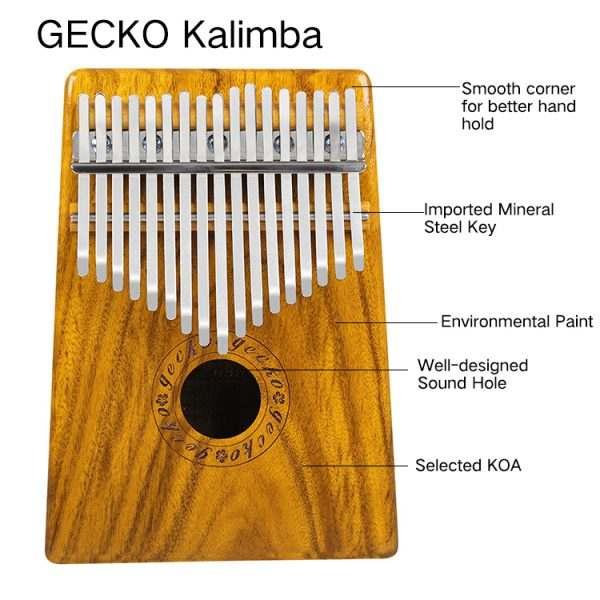 Kalimba Gecko K17MEQ