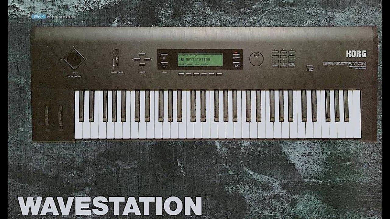 Synthesizer là gì Korg Wavestation
