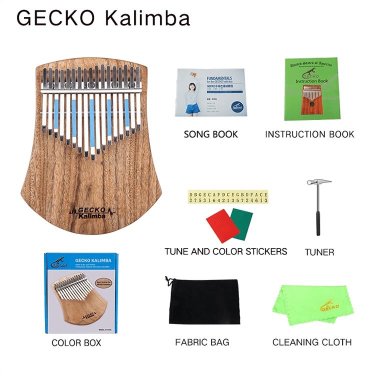 Kalimba Gecko K17CAS
