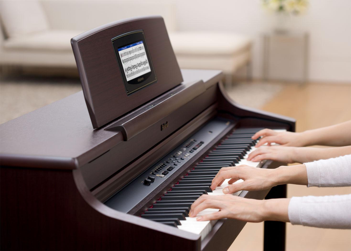 đàn piano điện roland hpi-7s piano fingers 5