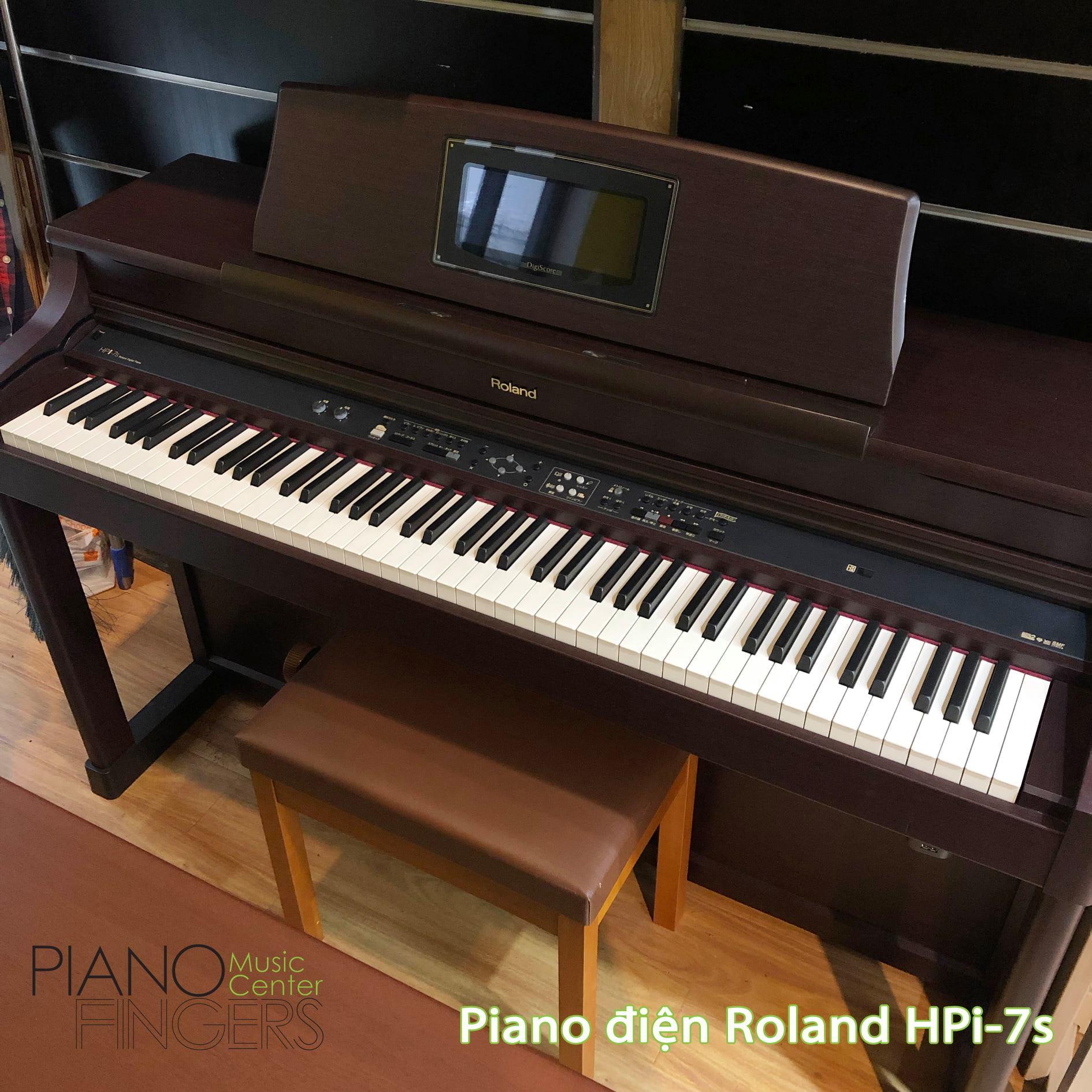 đàn piano điện roland hpi-7s piano fingers 4