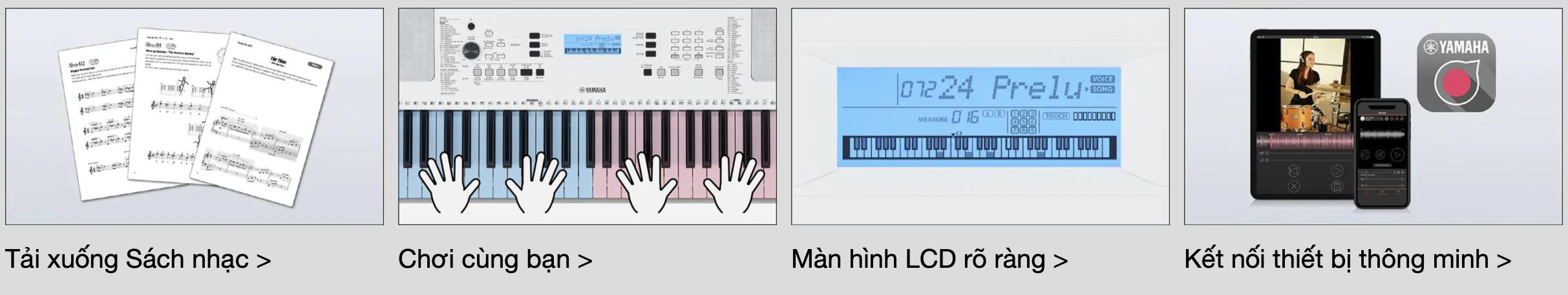 àn organ Yamaha EZ 300 4