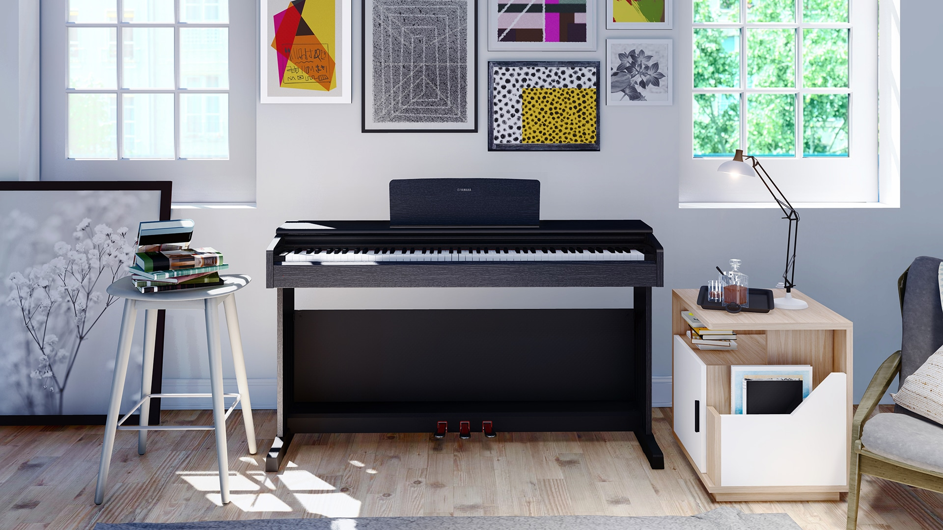 dan piano dien ydp 144 B