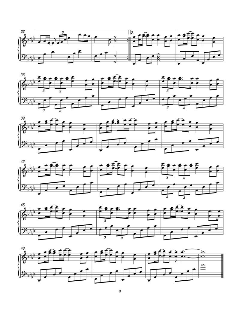piano-sheet-endless-love-the-myth-than-thoai-ost-3
