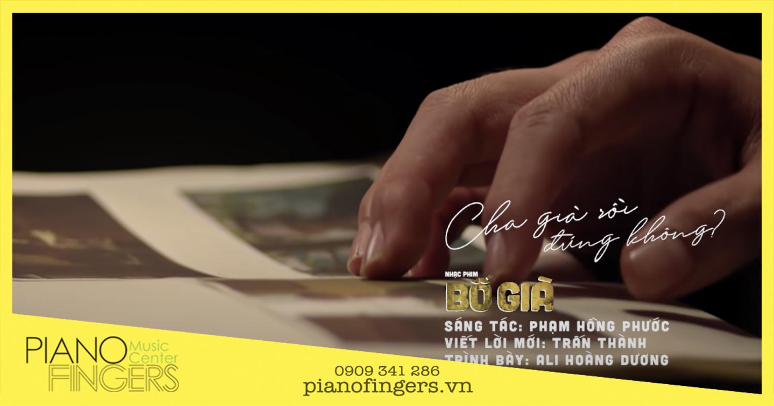 Sheet piano Cha Già Rồi Đúng Không – OST Bố Già